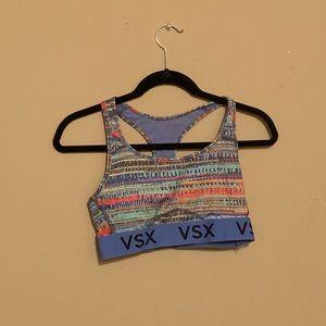Victoria's Secret colorful sports bra